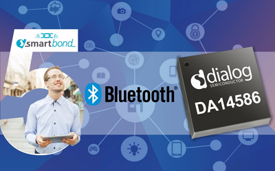 Dialog推出业界最低功耗高性能蓝牙系统级芯片